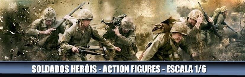 Soldados e Heróis: Figuras de Ação e Colecionáveis