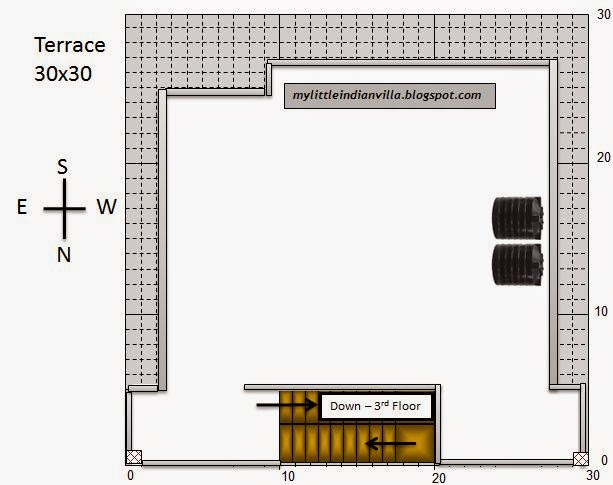 My little indian villa 27 r20 1bhk and 3bhk in 30x30 for 30x30 house floor plans