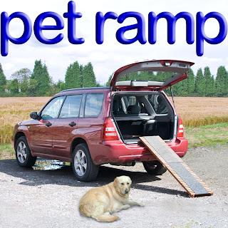 rampa para cães em veículos