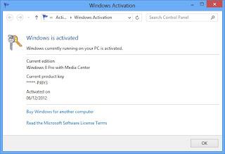 Upgrade Windows 8 Pro dengan Media Center Gratis dari Microsoft