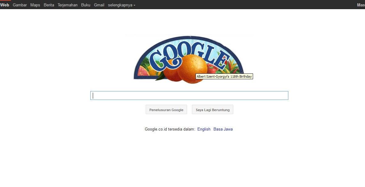 Antara Vitamin C dan Logo Doodle Google Hari Ini [Ulang ...