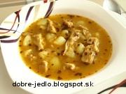 Držková polievka zo sójových plátkov - recept