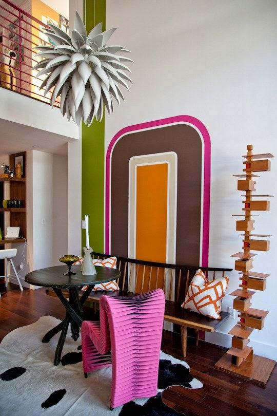 Mut zur Farbe im Design und Wohnen - Aufruf aus Kalifornien!
