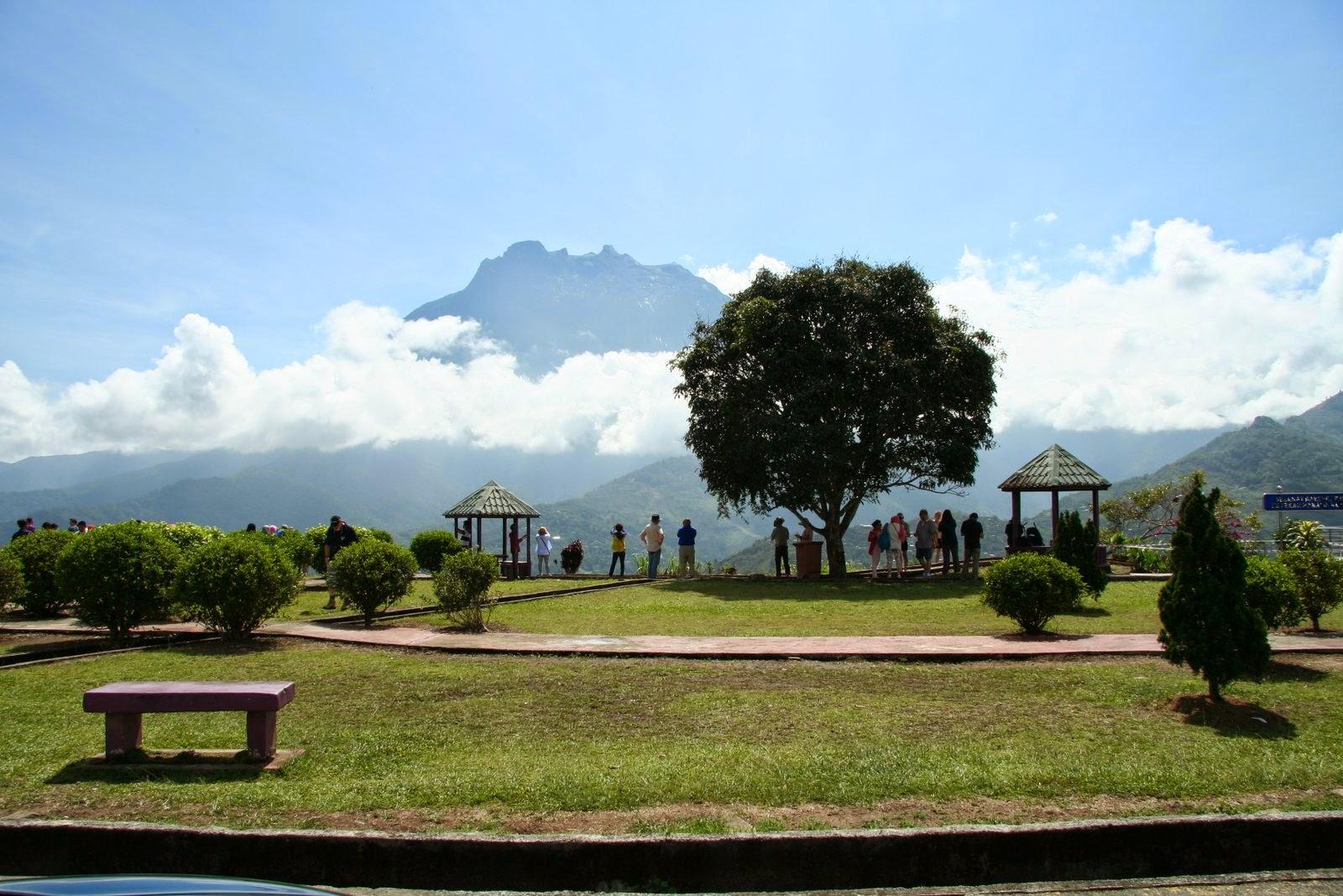 Garden Park of Pekan Nabalu (Nabalu Town) Mount Kinabalu