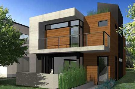 Modern simple houses