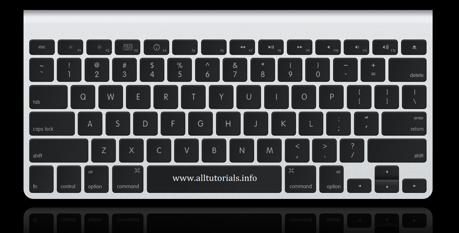 Shortcut Keyboard Mac OS