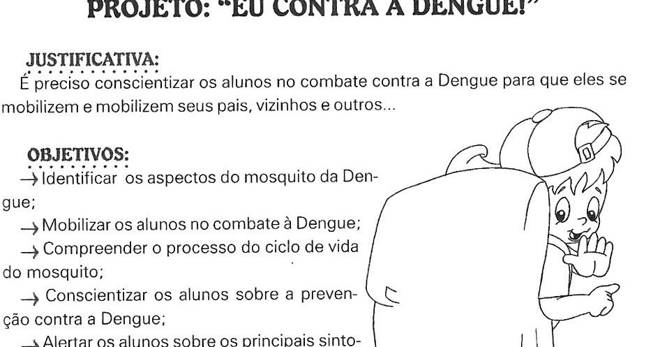 Muito Ensinando com Carinho: Projeto Dengue CJ43
