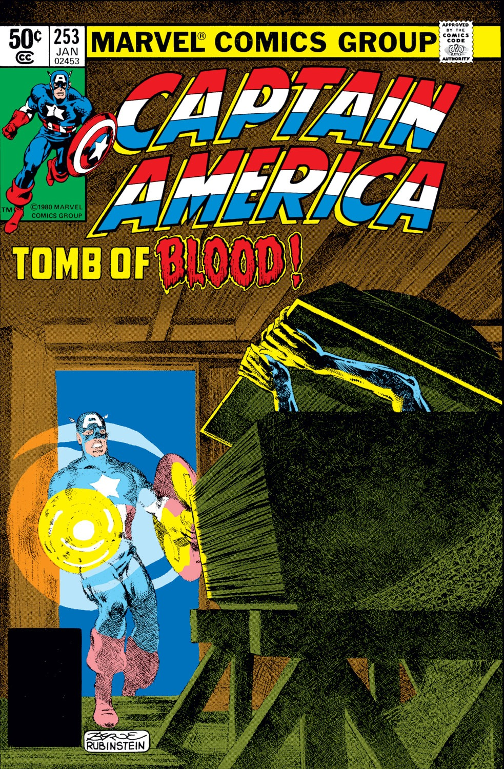 Captain America (1968) Issue #253 #168 - English 1