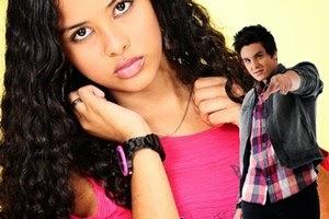 Colagem e moldura com Luan Santana
