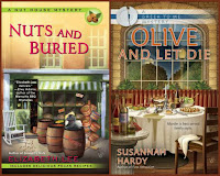 Nuts and Buried by Elizabeth Lee; Olive and Let Die by Susannah Hardy