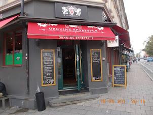 A Sports pub in Oslo