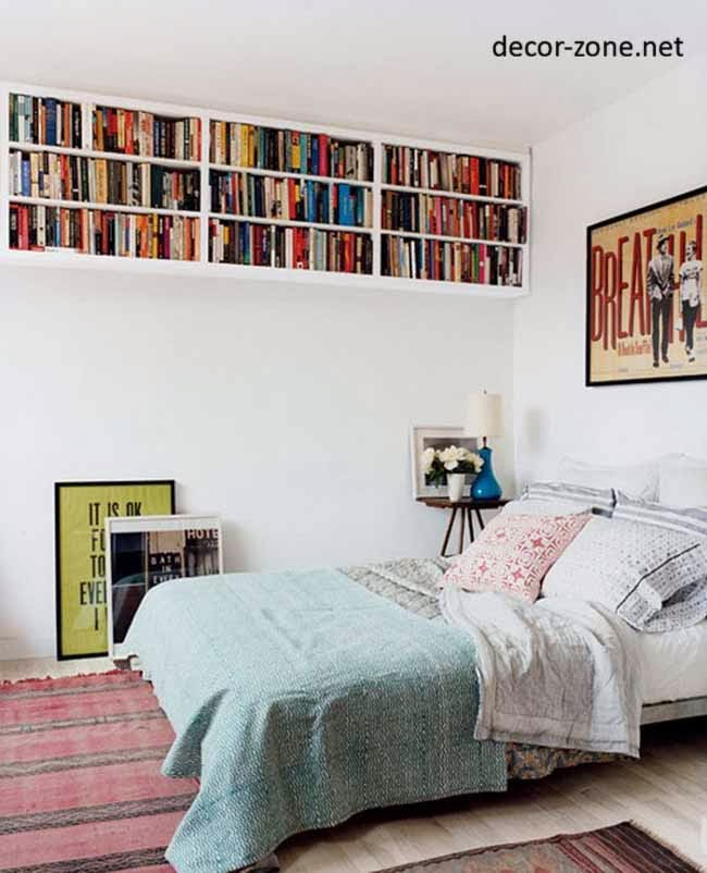 Bedroom shelving ideas 20 bedroom shelves designs Bookshelves in bedroom ideas