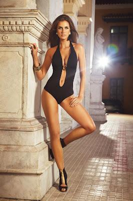 <strike>Hot Brazilian model Manoela Klein show off her sexy body for Verano High swimwear</strike> photoshoot