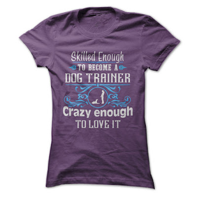 Dog Trainer T Shirts For Woman