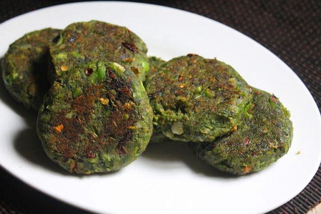 Hara Bhara Kabab Recipe – Spinach and Peas Kebab Recipe