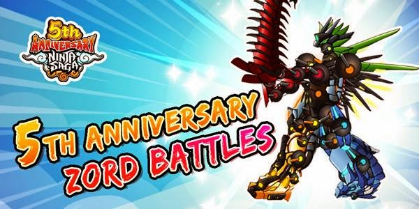 Cheat 5th Anniversary Event Ninja Saga