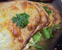 Tania zapiekanka z pieczywa i sera