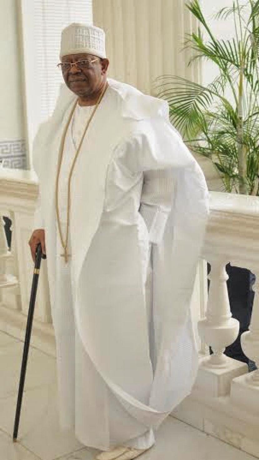 The Society Nigeria: OTUNBA SUBOMI BALOGUN AGES GRACEFULLY ...