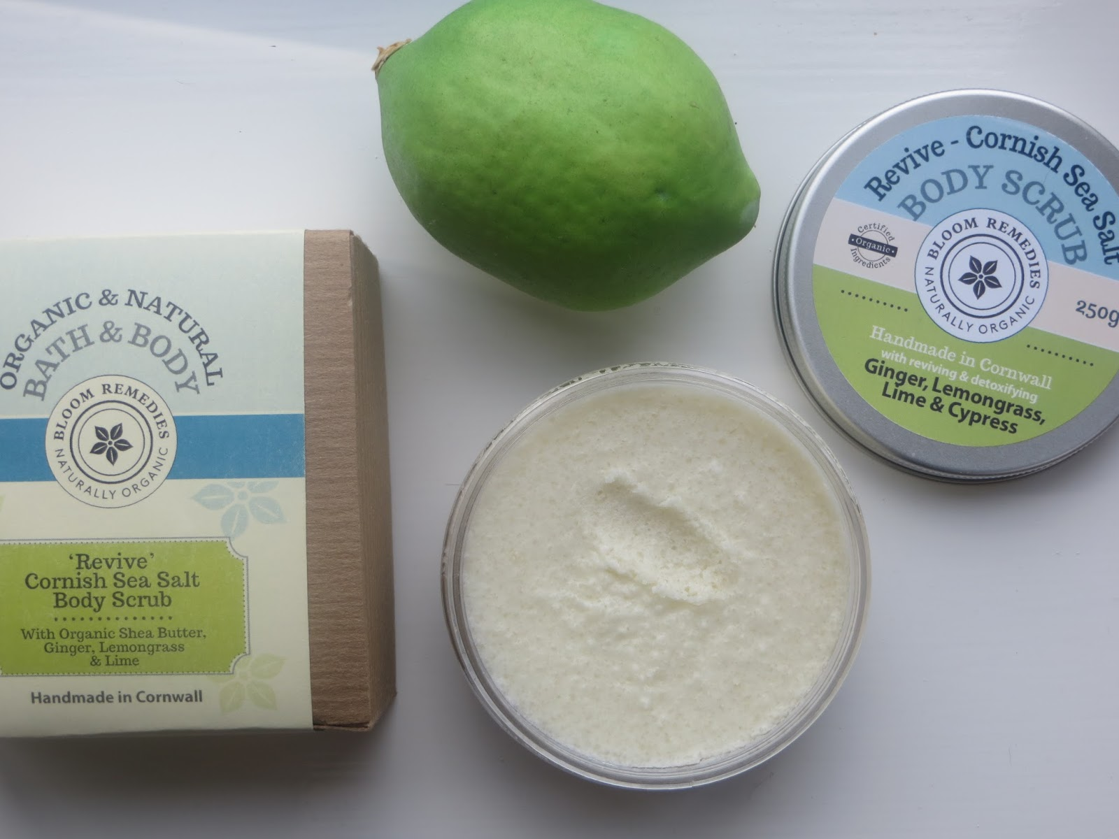 Bloom Remedies Revive Cornish Sea Salt Scrub
