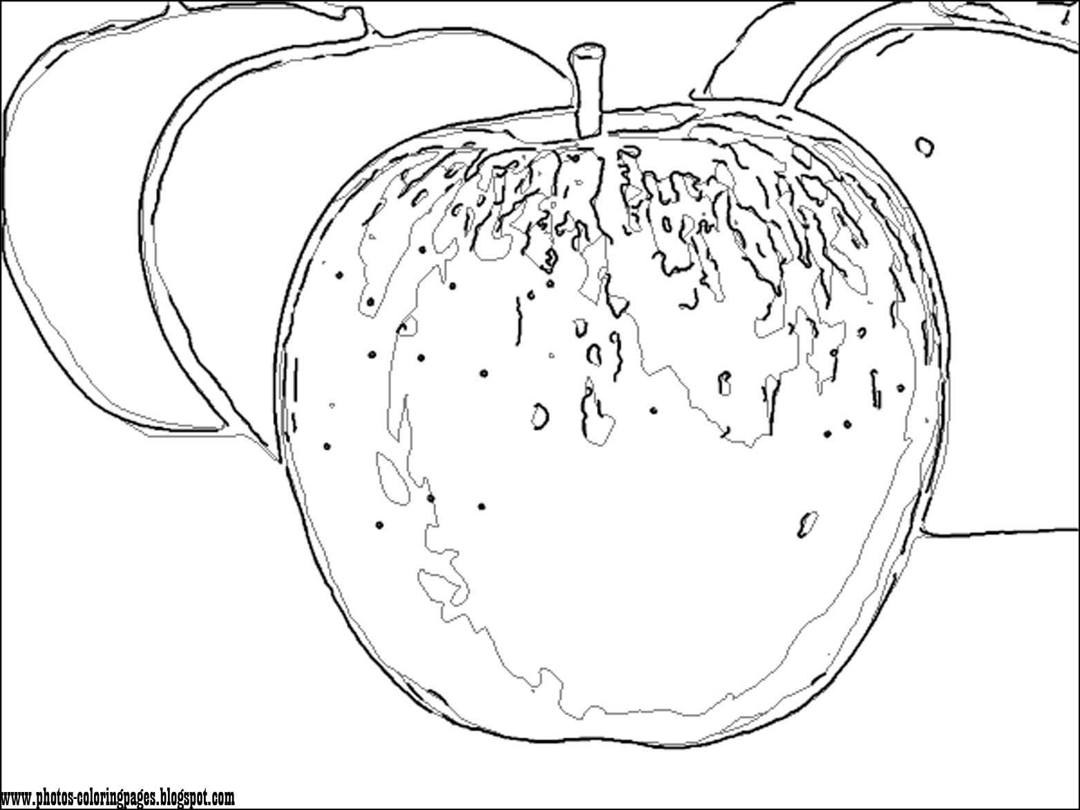 Cartoon Apple Coloring Pages : The cartoon coloring pages photos page of most