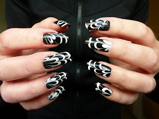 Best Simple Black Nail Art Designs