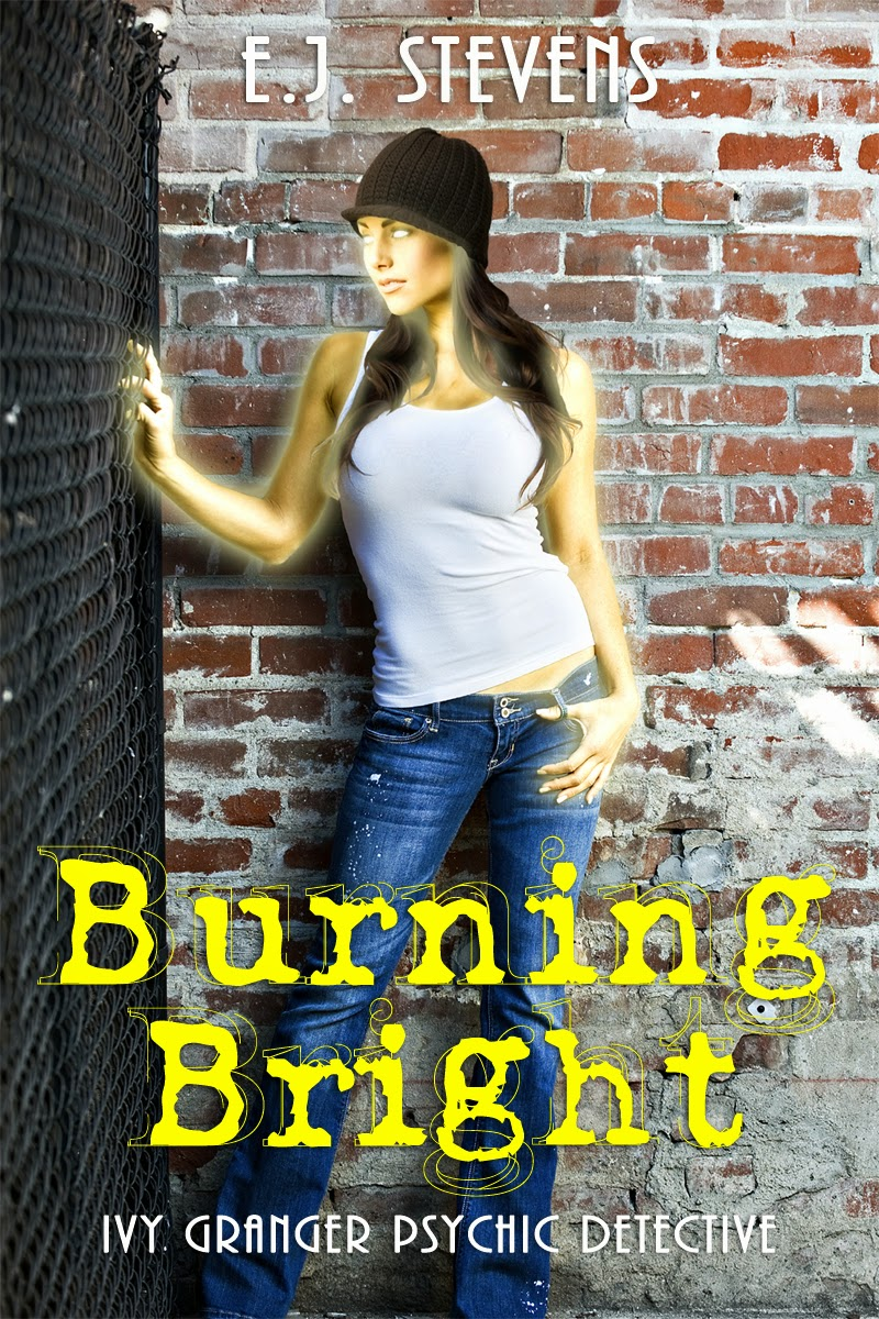 Win Burning Bright bestselling paranormal urban fantasy novel by E.J. Stevens