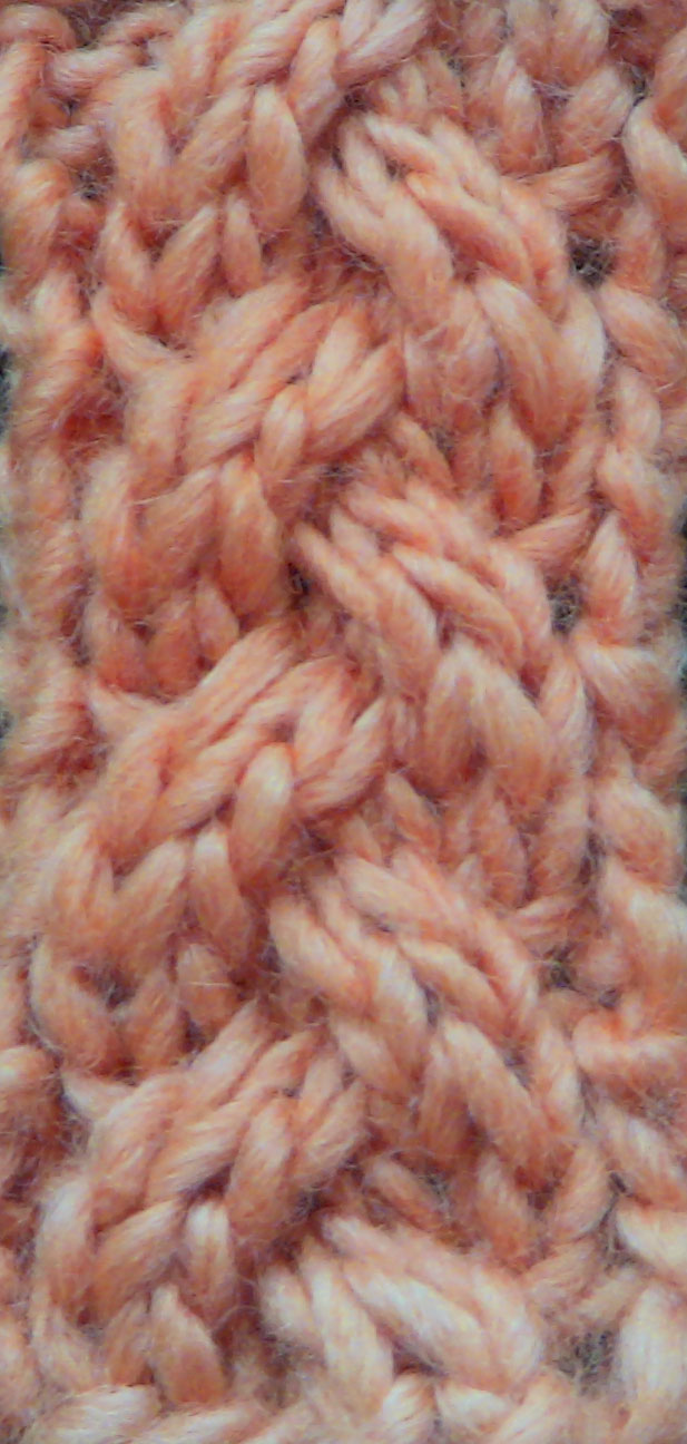 Knitting Cable Stitch In The Round : The Weekly Stitch: Little Plait Cable
