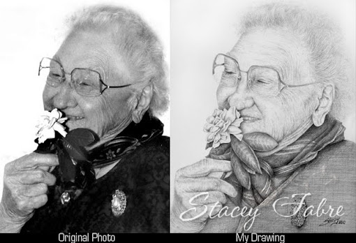 Lexi Bigham photo vs drawing