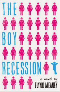 book cover of The Boy Recession by Flynn Meaney