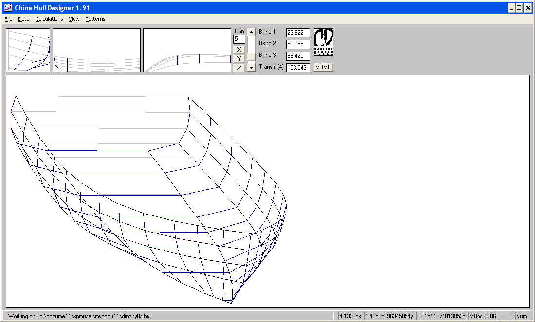 Tinkering About: Boat design with free software - Part 1 - Carlson ...