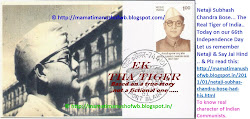"Netaji... The Real ""Ek Tha Tiger"" of India"