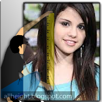 What is Selena Gomez height?