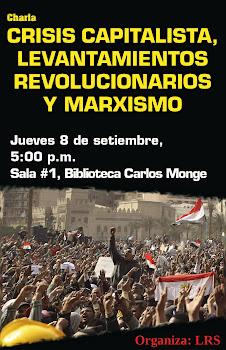 CRISIS CAPITALISTA, LEVANTAMIENTOS REVOLUCIONARIOS Y MARXISMO