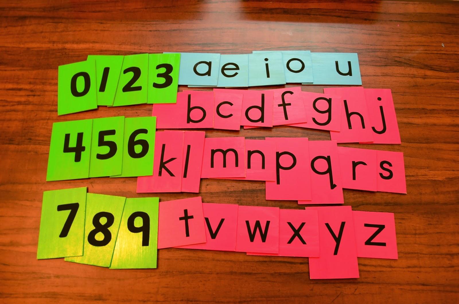 diy montessori sandpaper letters 10
