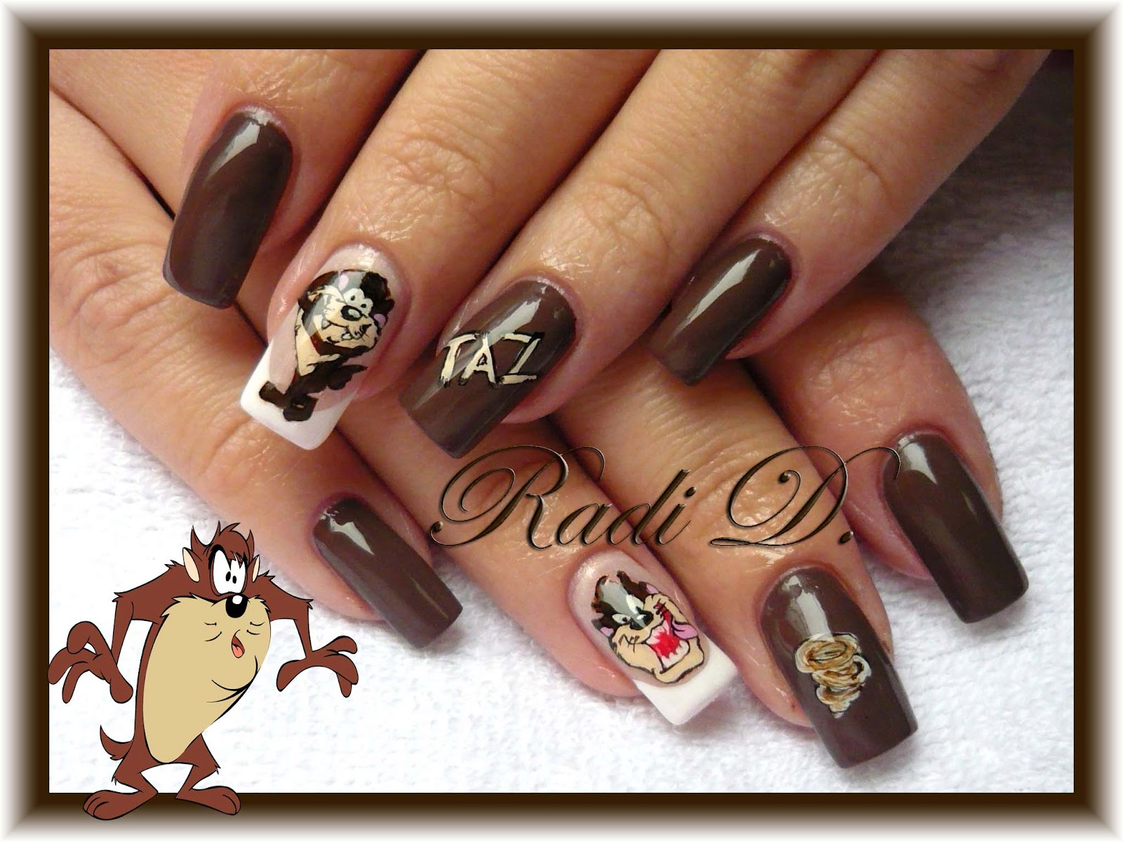 It`s all about nails: Taz nails