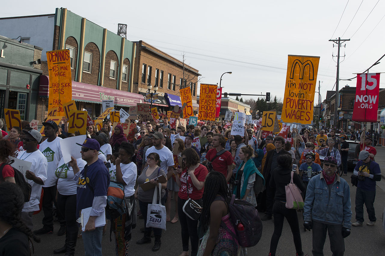 ump university of minnesota press blog  fight for 15 shines spotlight on harsh daily realities for low wage workers