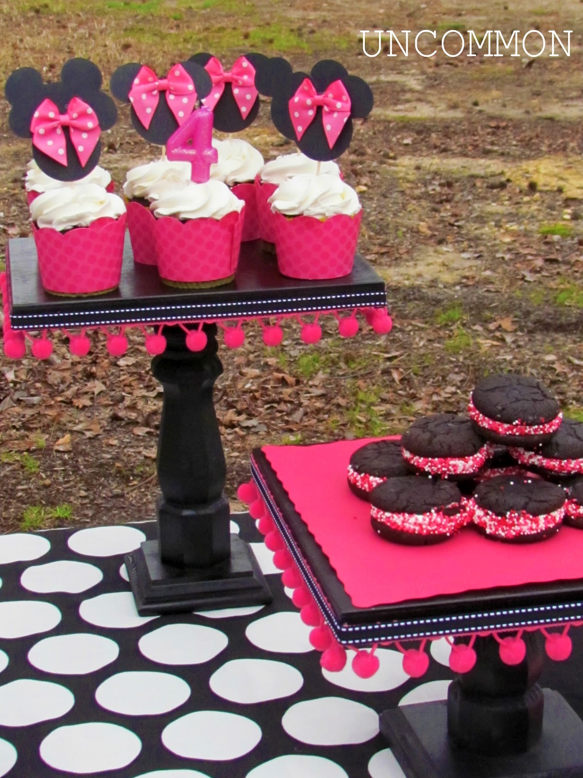 diy cake stands uncommon designs. Black Bedroom Furniture Sets. Home Design Ideas