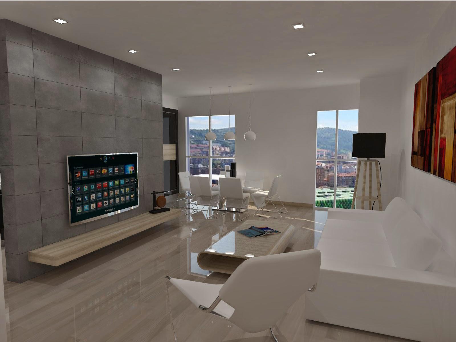 Reforma sal n comedor cocina piso 85 m2 linerenovatio for Precio de reforma por m2
