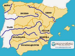 Rivers of Spain