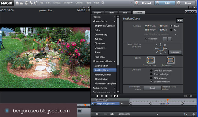 Aplikasi Edit Video Magix Movie Edit Pro