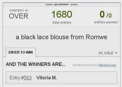 romwe lace blouse winner