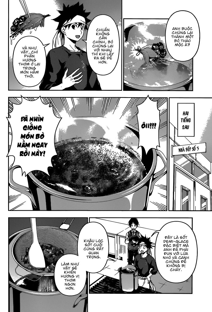 Shokugeki no Soma – Vua bếp Soma chap 82 Trang 12 - Mangak.info