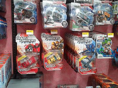 Transformers Prime Deluxe en Walmart