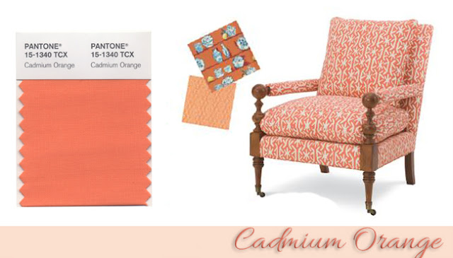 Cadmium Orange en Decoración - Tapicería Carrasco Asturias