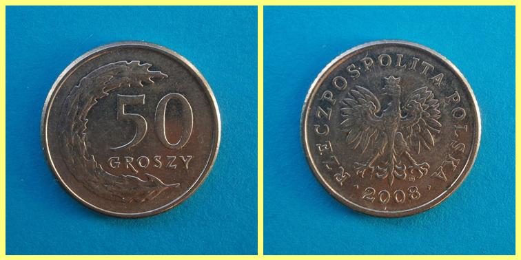 0.50 Zloty Polonia
