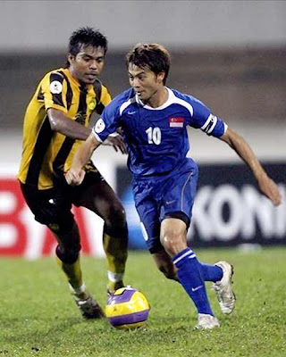 Indra Sahdan Daud : Singapore Football Team (3)