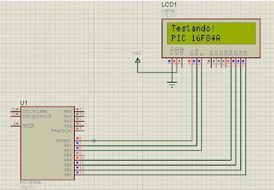 Utilização de Display LCD 16x2