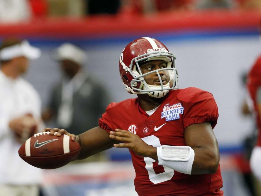 Alabama holds on to beat West Virginia in opener