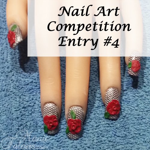 GCI Valentine's Day Nail Art Competition Entry 4