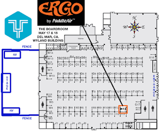 PaddleAir's Ergo Booth H-13